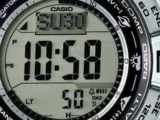 Casio PRW-3500 Atomic Resin Digital Watch