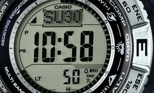 Casio Pro Trek PRW-3500 Atomic Resin Digital Watch