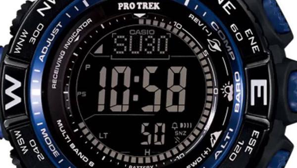 Casio Pro Trek PRW-3500Y Tough Solar Atomic Digital Display Quartz Black Watch